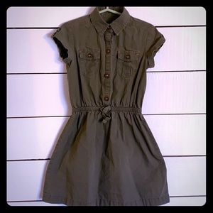 Gap Kids olive green dress